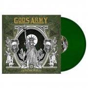 Green Vinyl MockUp (Square)-min