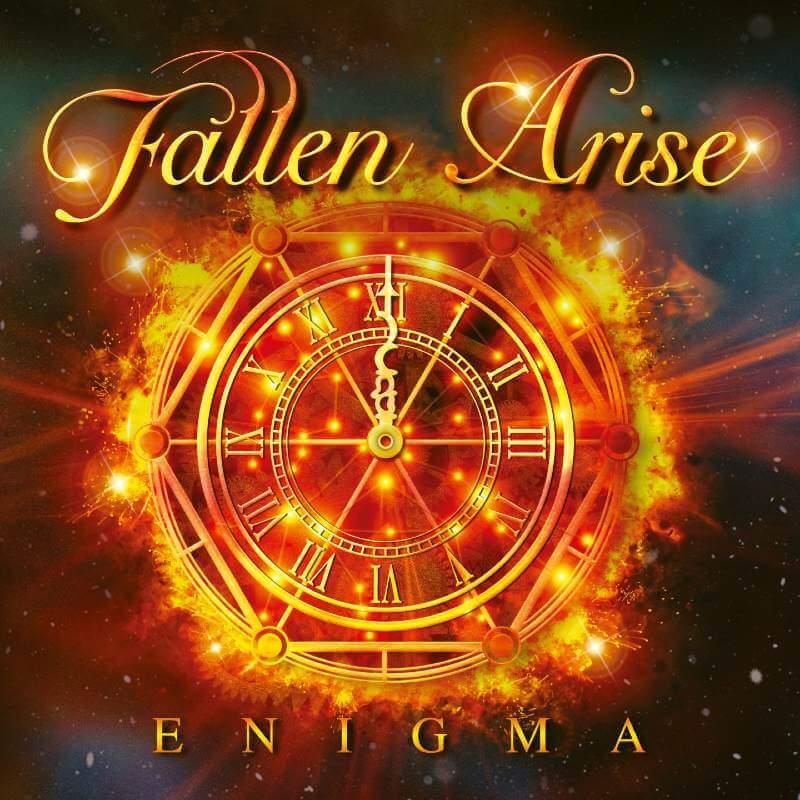 Fallen Arise - Enigma (Orange/Red Marbled LP) - Roar